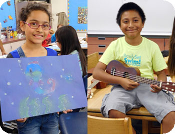 After school integrated arts literacy program